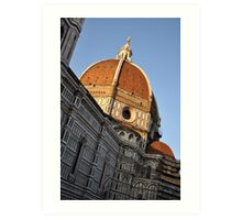 Church Dome of St. Mary of Flowers Art Print