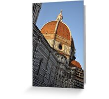 Church Dome of St. Mary of Flowers Greeting Card