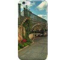 The Iron Bridge at Exeter  iPhone Case/Skin
