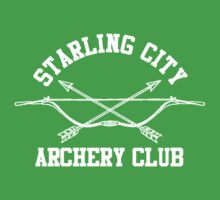 Starling City Archery Club – Arrow, Ollie Queen Baby Tee