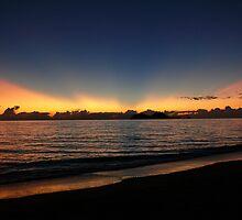 Sunrise at Ellis Beach by Tanya Rossi