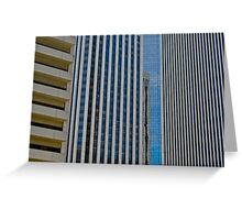 Architecture San Francisco Greeting Card