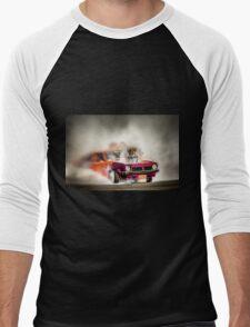 FRYZEM burnout Men's Baseball ¾ T-Shirt