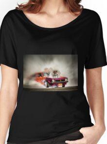 FRYZEM burnout Women's Relaxed Fit T-Shirt
