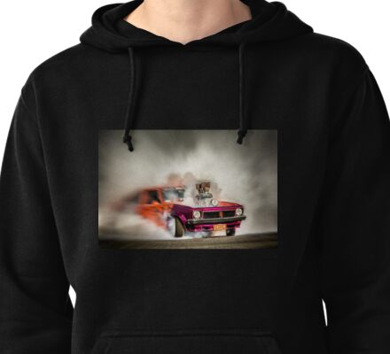FRYZEM burnout Pullover Hoodie