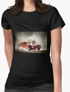 FRYZEM burnout Womens Fitted T-Shirt