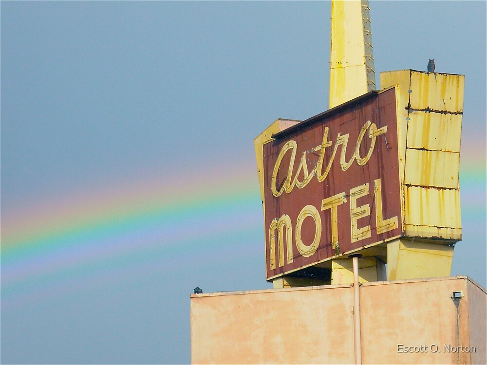 Astro Sign with Rainbow  by Escott O. Norton