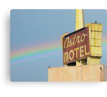 Astro Sign with Rainbow  Canvas Print