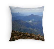 Australia, Tasmania South Hobart Throw Pillow