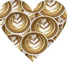 Latte Hearts Heart by umeimages