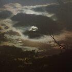Rustic Moon by gnarlyart