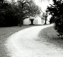 BW-08 - Old Church - Montague, Texas by jphall