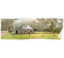 Frys Hut, Howqua Hills, Victoria, Australia Poster