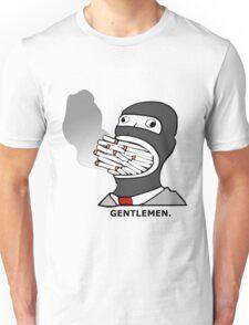 Gentlemen.  (Smoke) Spy -Team Fortress 2 Unisex T-Shirt