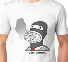 Gentlemen.  (Smoke) Spy -Team Fortress 2 Unisex T-Shirt
