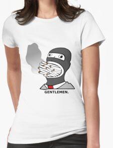 Gentlemen.  (Smoke) Spy -Team Fortress 2 Womens Fitted T-Shirt