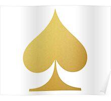 Golden Spade Poster