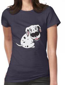 Dali Dot Womens Fitted T-Shirt