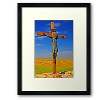 Crucifixion of Jesus Framed Print