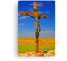 Crucifixion of Jesus Canvas Print