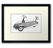 Toycar Framed Print