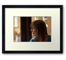 A Reflective Moment Framed Print