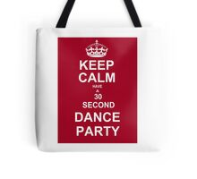 Grey's Anatomy Fans Keep Calm And Dance !  Tote Bag