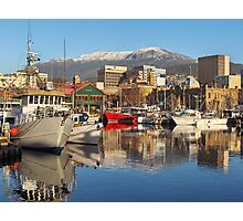 Hobart Harbour Photographic Print