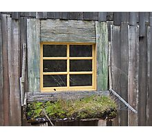 Tales of a Window Photographic Print