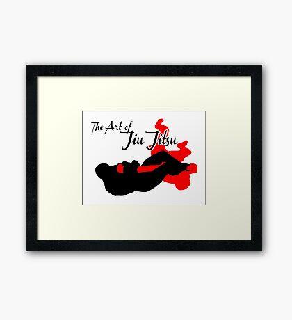 The Art of Jiu Jitsu Arm Bar  Framed Print