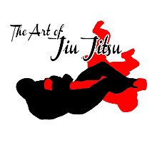 The Art of Jiu Jitsu Arm Bar  Photographic Print