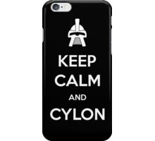 Keep calm and Cylon iPhone Case/Skin