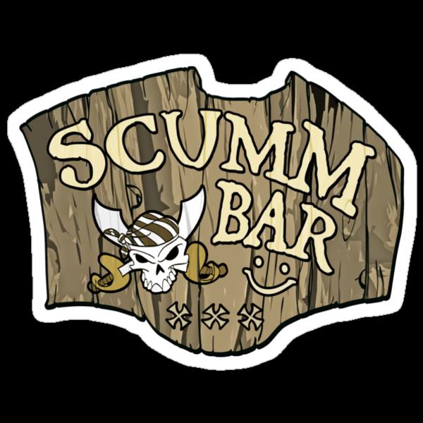 Monkey Island - Scumm Bar by Faniseto