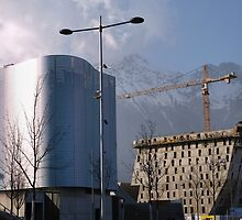 Building development, Innsbruck by SoulSparrow