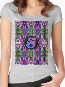 String Cheese Incident - Trippy Pattern Women's Fitted Scoop T-Shirt