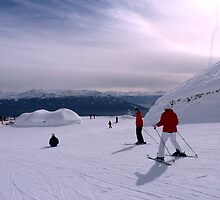 Ski slopes, Innsbruck by SoulSparrow