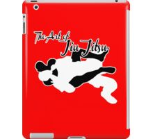 The Art of Jiu Jitsu Rear Naked Choke  iPad Case/Skin