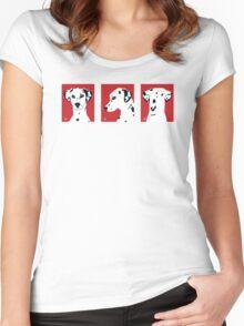 Dali x 3 - t shirt Women's Fitted Scoop T-Shirt