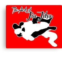 The Art of Jiu Jitsu Rear Naked Choke  Canvas Print