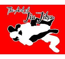 The Art of Jiu Jitsu Rear Naked Choke  Photographic Print
