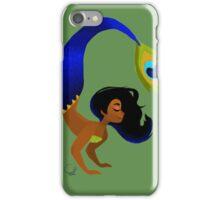 Tropical Peacock Mermaid iPhone Case/Skin