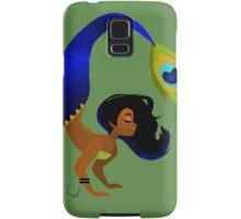 Tropical Peacock Mermaid Samsung Galaxy Case/Skin
