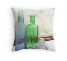 Bottled Throw Pillow