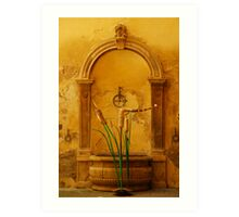 Painted by Tuscany Art Print
