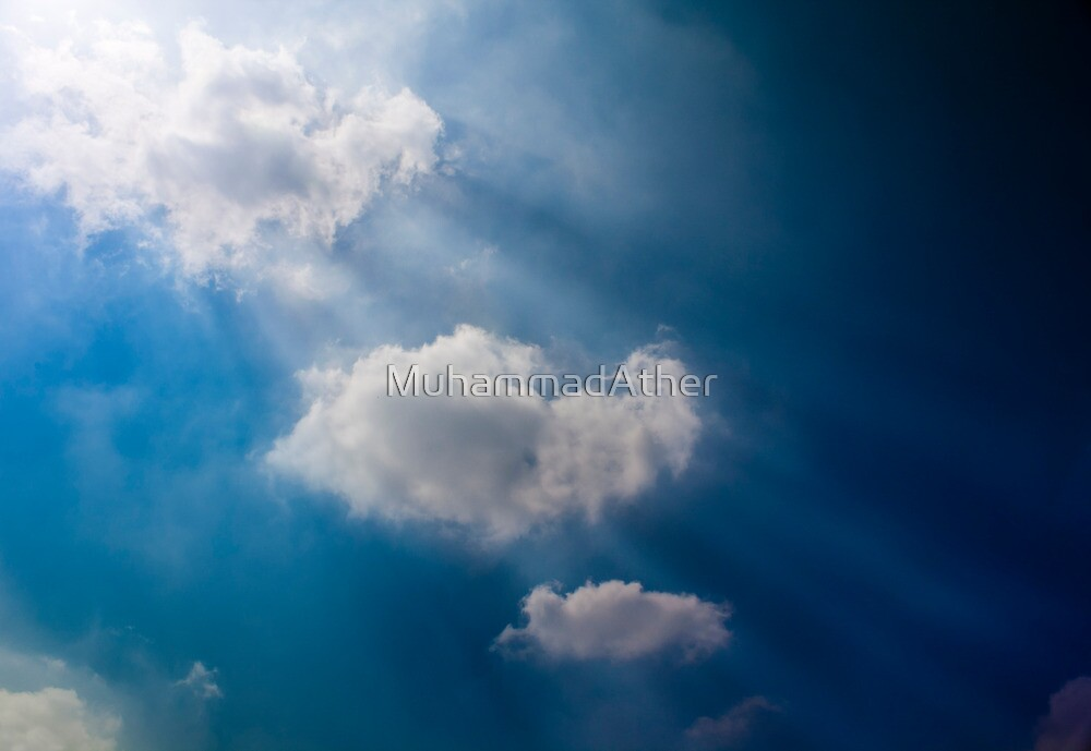 Beautiful sky with drama going on by MuhammadAther