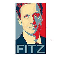 """ I'm the Commander in Chief "" - President Fitz * Notebooks and Journals added * Photographic Print"