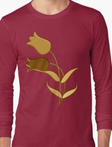 Golden tulips Long Sleeve T-Shirt