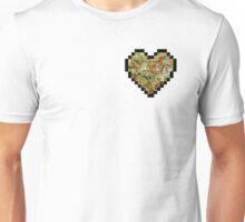 8-Bit Bud Heart Unisex T-Shirt