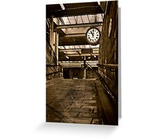Carnforth station (A Brief Encounter)  Greeting Card