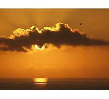 Pensacola FL Sunrise over the Gulf of Mexico Photographic Print